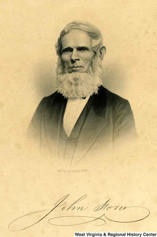 Ritchie, H. A.; Engraving of John Storer of Sanford, Maine, circa 1860