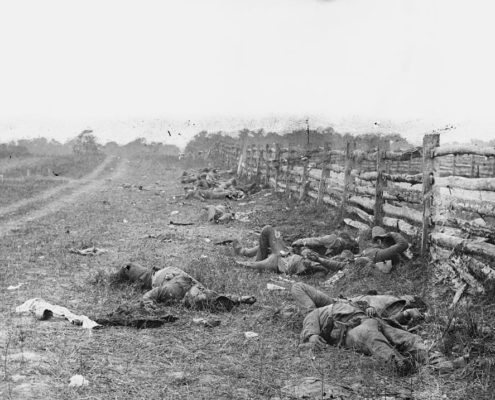 Alexander Gardner photo of the Battle of Antietam