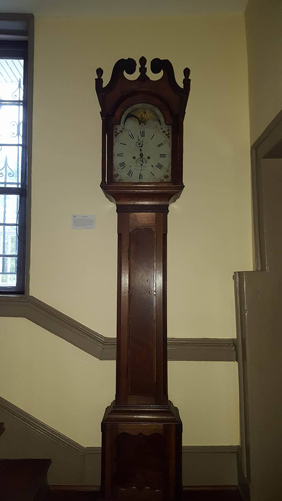Tall case clock dating site